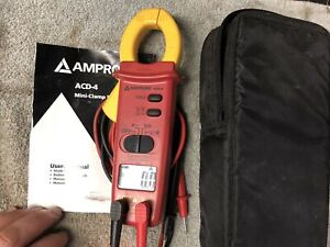 Amprobe Acd 4 Compact Mini clamp Handheld Digital Multimeter Ac Dc Current Volt