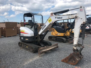 2014 Bobcat E32 Hydraulic Mini Excavator W Only 2000hrs Coming Soon