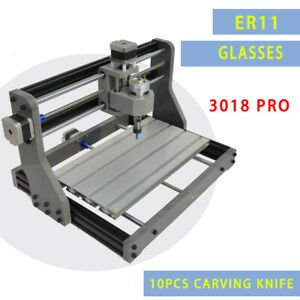 3018 Cnc Machine Router 3 Axis Engraving Pcb Wood Carving Diy Milling Kit 2500mw