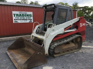 2007 Takeuchi Tl140 Compact Track Skid Steer Loader W Cab