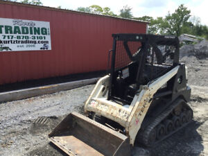 2015 Terex R070t Compact Track Skid Steer Loader Only 1300 Hours