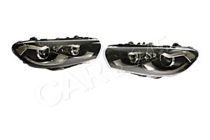 Headlights Pair Bi xenon Led Drl Afs Fits Vw Scirocco 2014