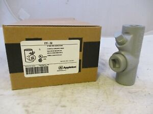 Appleton Eyf50 1 2 Explosion Proof Seal Off Eys Crouse Hinds