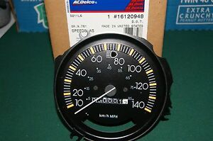 Brand New In The Box Ac Delco Chevy Speedometer