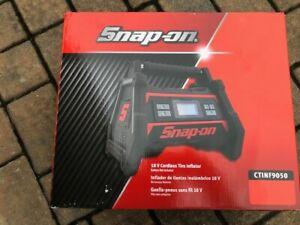 Snap On Tools Tire Inflator Portable 18v Cordless With Out Battery Uses 18v Batt