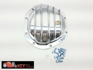 Dana 44 Polished Aluminum Differential Cover Chevy Ford Dodge Jeep Bronco Blazer