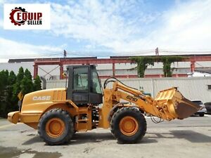 Case 621d Wheel Loader Enclosed Cab