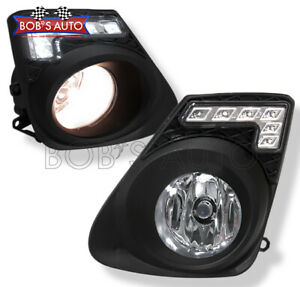 For 2011 2012 2013 Toyota Corolla High Power Led Bumper Fog Lights Driving Lamps