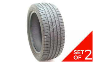 Set Of 2 Used 245 45zr18 Michelin Pilot Sport A S 3 Plus 100y 7 32