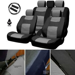 For Chevrolet New Pu Leather Car Truck Auto Seat Cover Front Rear Full Set Bg