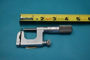 Used Starrett 1 2 Multi Anvil Micrometer No 220