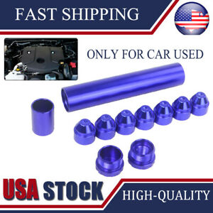 Only Car Used 1 2 28 Napa 4003 Wix 24003 Fuel Filter Aluminum Solvent Trap Blue