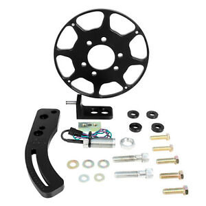 Msd Crank Trigger Kit Flying Magnet Black Fits Big Block Chevy 86203