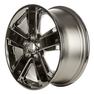 Chrome Plated 5 Spoke 17x7 5 Factory Wheel 2006 2006 Lincoln Ls