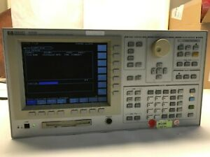 Hp Agilent 4156b Precision Semiconductor Parameter Analyzer sale