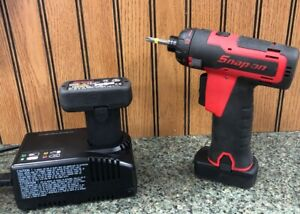 Snap On Cts761a 14 4 Volt 1 4 Micro Lithium Cordless Screwdriver 2 Batteries Ch