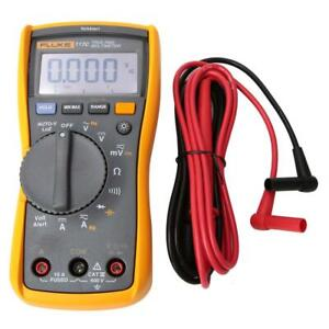 Fluke 117c True Rms Ohm Diode Capacitance Tester Meter Digital Multimeter