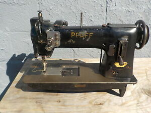 Industrial Sewing Machine Model Pfaff 145 3 Single Walking Foot Leather