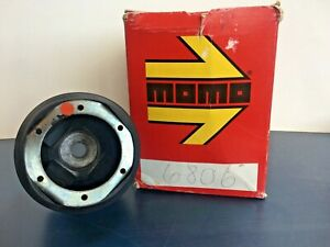 Peugeot 505 Momo Steering Wheel Adapter And Center Button Rare