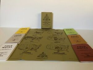 Field Notes Fnc 14 National Crop Edition Box Set Spring 2012 No Patch