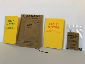 Field Notes Packet Of Sunshine 2010 2 Notebooks Envelope Seeds Rare