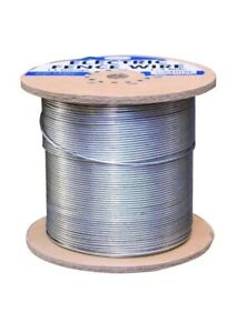 1 4 Mile Electric Fence Wire 14 gauge Galvanized Fencing Rotational Grazing Roll