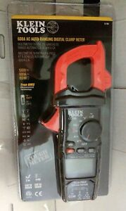 New Klein Tools Cl700 600 Amp Ac True Rms Auto ranging Digital Clamp Meter