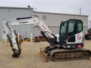 2015 Bobcat E85 Hydraulic Midi Excavator W Thumb Only 1400 Hours Coming Soon