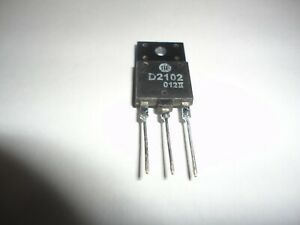 Horizontal Output Transistor 2sd2102 Used In Various Sets Free Usa Ship