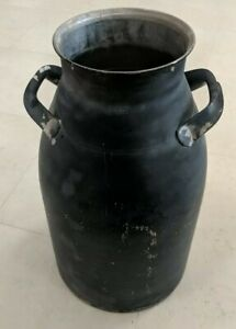 Vintage 40 Qt Stainless Steel Milk Can 10 Gal Gallon Firestone 48904 Sani brite