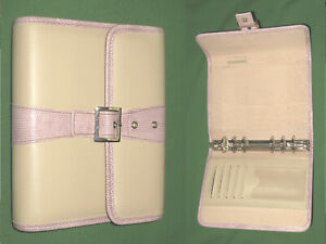 Compact 1 0 Pink Reptile Faux Leather Franklin Covey 365 Planner Binder 2226