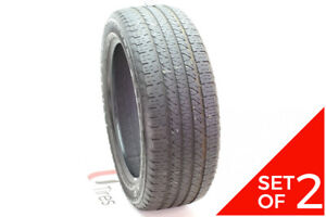 Set Of 2 Used 265 50r20 Goodyear Fortera Hl 107t 6 7 32