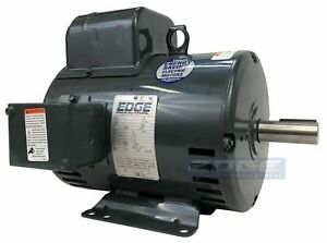 5hp Baldor Compressor Duty Industrial Electric Motor 184t 1750 Rpm 208 230v