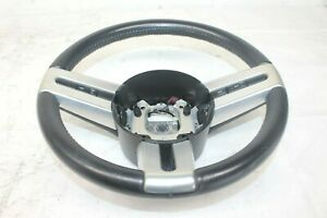 2007 Ford Mustang Gt Conve 122 Black Steering Wheel W Switches