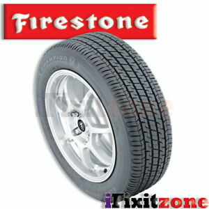 1 Firestone Champion Fuel Fighter 225 65r17 102t Efficient Performance Tires