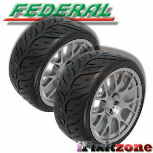 2 Federal 595rs rr 255 40zr17 94w Extreme High Performance Racing Summer Tire