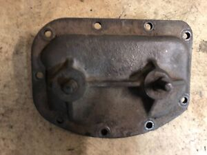 Borg Warner T10 Super T 10 4 Speed Iron Side Cover Assembly With Shift Shafts