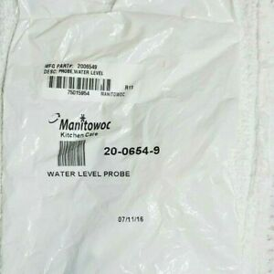 Manitowoc 20 0654 9 Oem Replacement Water Level Probe