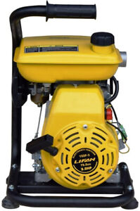 Stanley Gas Powered Displacement Water Pump 3 Hp Non submersible 1 5 In Yellow