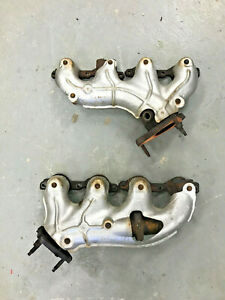 01 02 Ls1 Camaro Exhaust Manifolds Original Stock Gm Headers Iron Oem Firebird
