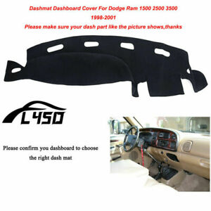Special Dash Mat Fits For 1998 2001 Dodge Ram 1500 2500 3500 Dashboard Cover New