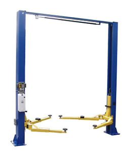 Jmc Equipment Jmc9kacx 9 000lb Two Post Clear Floor Asymmetric Lift