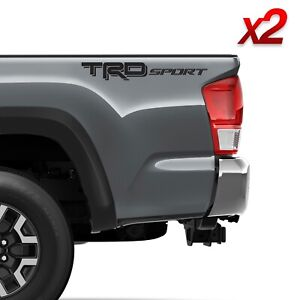 Set Of 2 Trd Sport Vinyl Decal For 2016 2021 Toyota Tacoma Tundra 3rd Gen