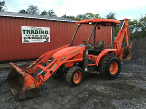 2006 Kubota L39 4x4 Compact Tractor Loader Backhoe Only 2600hrs Coming Soon