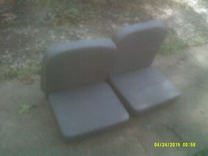 Willys Jeep Cj2a Beachwood Canvas Seat Cover Set Complete Brand New