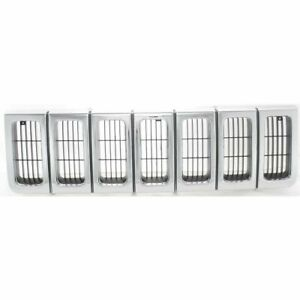 New Front Grille For Jeep Grand Cherokee Utility 1998 1996 55055059 Ch1200192
