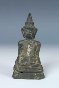 Antique Bronze Laos Buddha