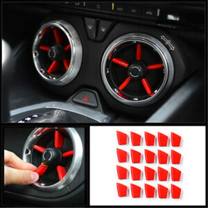 Auto Styling Car Interior Air Vent Outlet Cover Trim Fit For Chevrolet Camaro Su