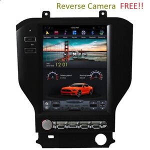 Radio Vertical Screen Gps Ford Mustang 2015 2019 Android Wifi Bluetooth Stereo