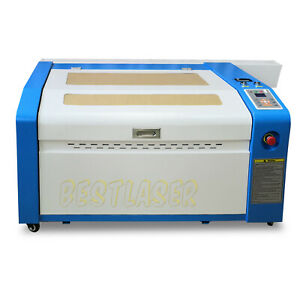 Rdworks 50w Laser Engraving And Cutting Machine With Motorized Table 16 x24
